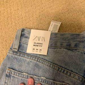 Brand new, never worn Zara jeans